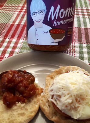 IMAGE: Mexican-style ham and egg in a cup with Mom's Homemade Salsa ... a tasty twist on the breakfast standard.