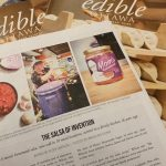 IMAGE: Mom's Homemade Salsa has been featured in the March 2020 edition of Edible Ottawa magazine.