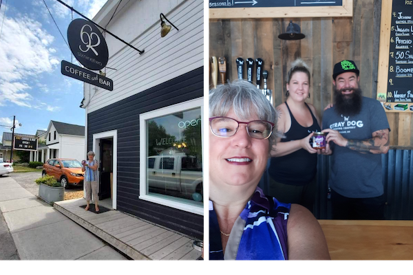 IMAGE: Mom's Homemade Salsa is now available through the Stray Dog Brewing Company in Orleans, and at 692 Coffee and Bar in Manotick.