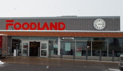 IMAGE: The Foodland store in Russell, just east of Ottawa. is now stocking all 4 blends of Mom's Homemade Style Salsa.