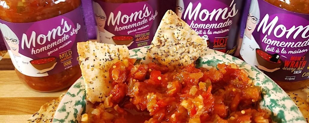 Mom's Homemade Style Salsa - 4 varieties. Mainbanner image.