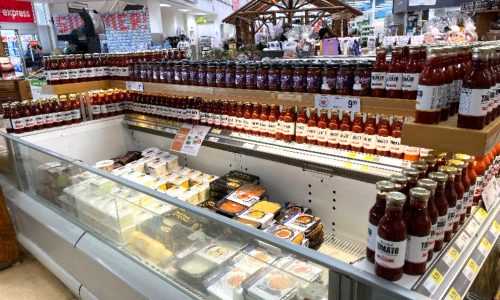 IMAGE: IMAGE: Check out the deli area at Bullock's Your Independent Grocer in Huntsville for Mom's Homemade style salsas.
